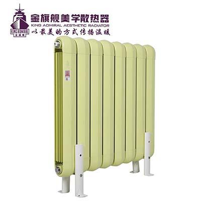 采暖炉暖气片的装法